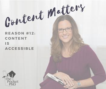 Content Matters #12