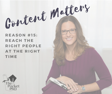 Content Matters #15